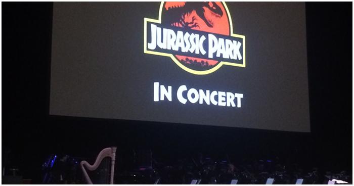 ジュラシックパークのコンサート