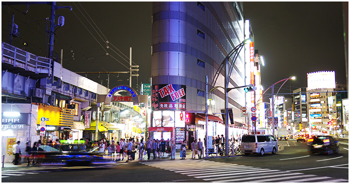 JR山手線御徒町駅